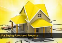 Basics of In-Person Auction for Foreclosure Properties